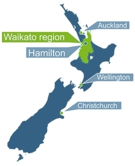 Hamilton New Zealand Map.Where In New Zealand Is Waikato Institute Of Education